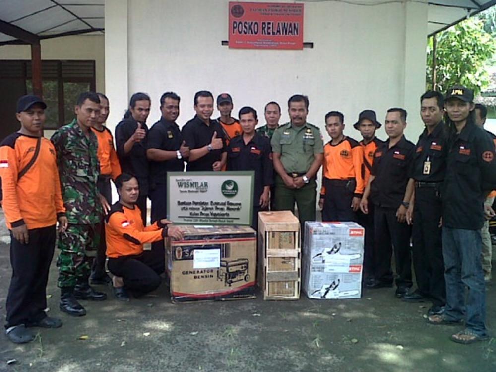Bantuan Alat Evakuasi Bencana untuk Jogjakarta