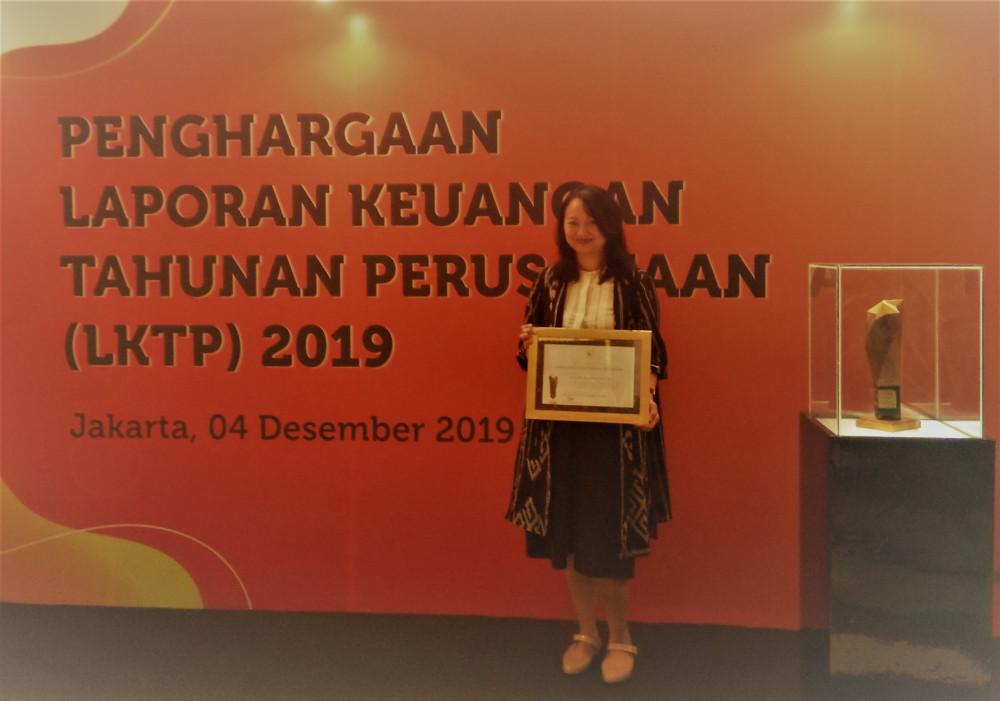 Penghargaan Laporan Keuangan Tahunan Perusahaan 2019